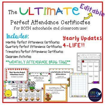 Ponad 25 najlepszych pomysłów na Pintereście na temat Attendance - printable certificate of attendance