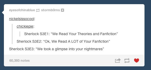 """I mean, after two happy episodes, there was no way that """"His Last Vow"""" wasn't going to be painful. 