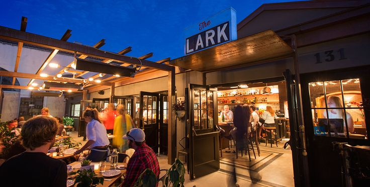 The Lark Santa Barbara - this place is so good! I went for an event, but I've heard it's hard to get a reservation right now because they're new and trending.