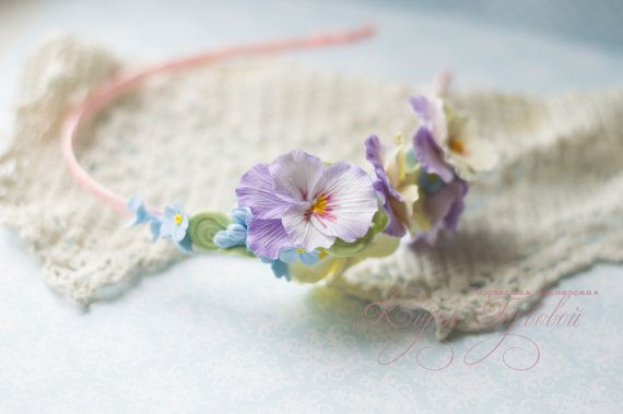 Hair band Lightness by kiragorbovaTM on Etsy