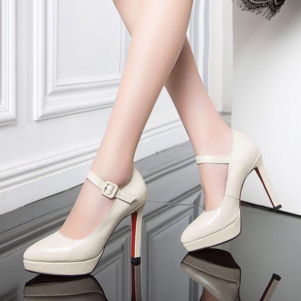 Pumps - Lucia - $90.99 @shoesofexception #sexy #stiletto #platform #women #pumps