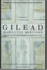 Gilead af Marilynne Robinson, ISBN 9781844081486