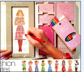 fashion plates, i loved these things