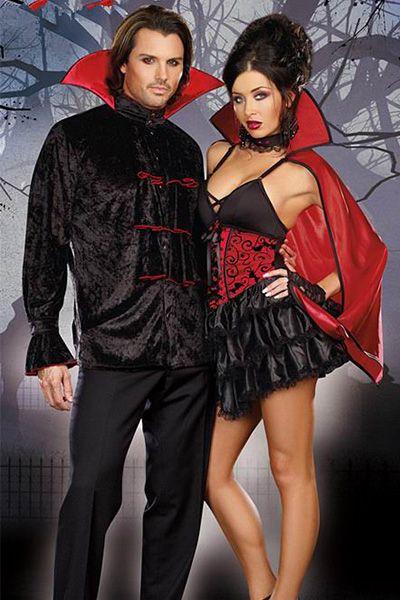 Teamlala 超セクシーレディース 魔女 吸血鬼 ハロウイン仮装衣装 2017新作 ディズニー ヴァンパイア メンズコスプレ衣装