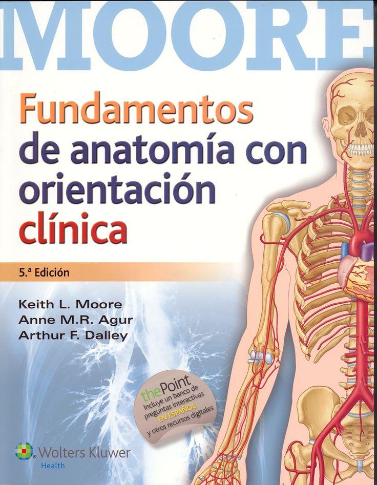 """Fundamentos de anatomía : con orientación clínica : 5a edición"" / Keith L. Moore, Anne M.R. Agur, Arthur F. Dalley. Barcelona [etc.] : Wolters Kluwer, cop. 2015. Matèries: Anatomia humana. #nabibbell"