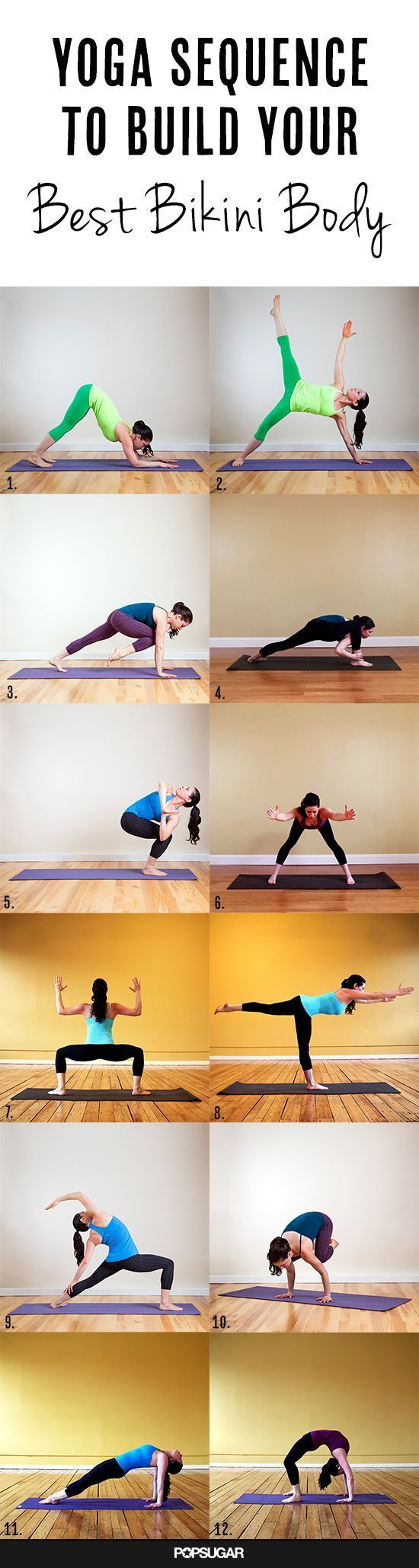 Total Body Sequence: Quarter Dog, Balancing Star, Knee Up Plank, Burning Low Lunge, Side Fierce, Extended Standing Straddle, Goddess, Warrior 3, Crescent Moon, Crow, Intense East, Wheel