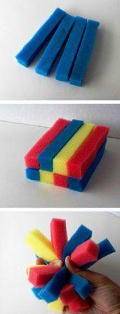 Игрушки из губки (2)