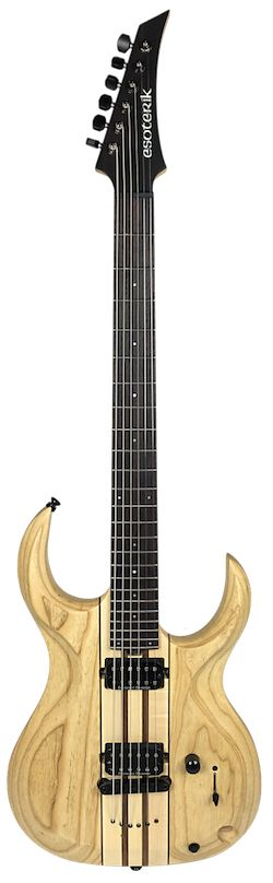 "Esoterik LK27. This new baritone guitar has a 27"" scale length and comes equipped with Seymour Duncan pickups."