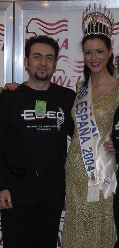 Mª Jesús Ruiz Miss España 2004
