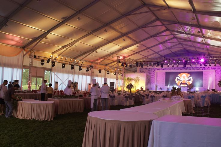 HUAWEI Golf Tour|Frame Tent|Event Tent|Luxury Deco