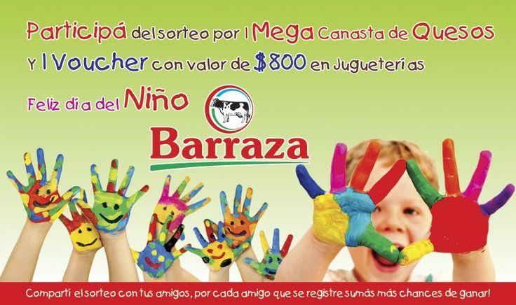 Festejá el Día del Niño con Barraza