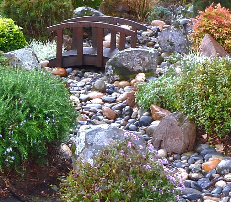 27 best images about bridges on pinterest gardens for Garden scaping