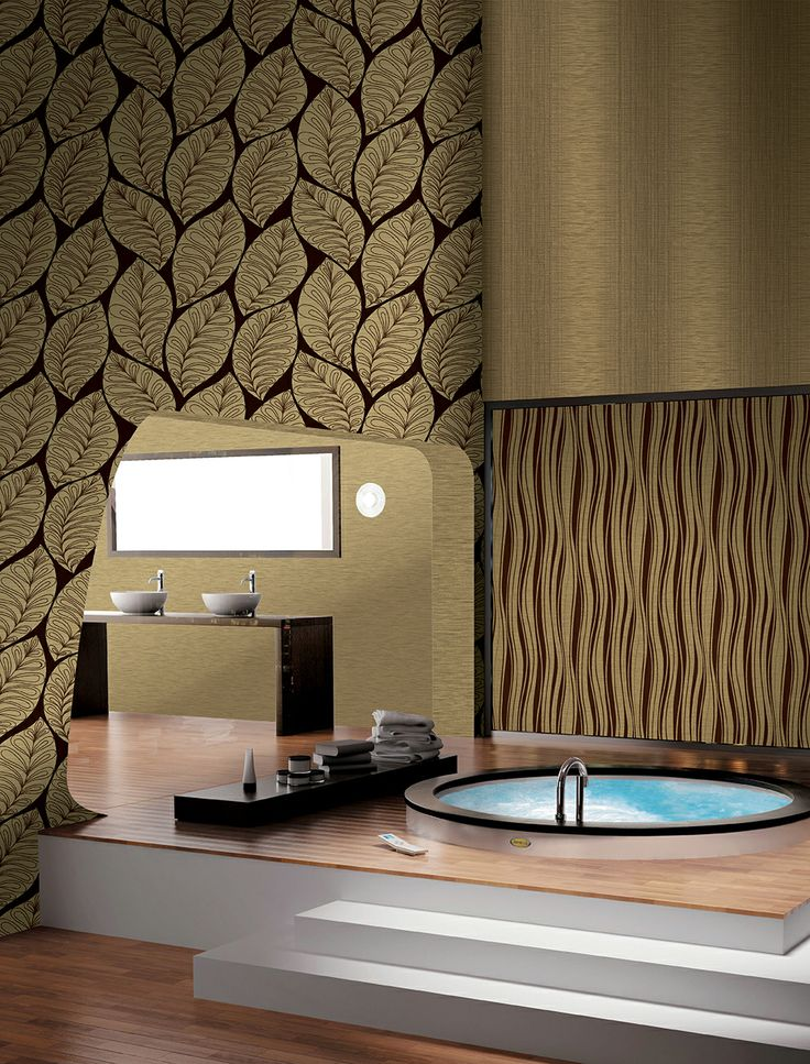 Luxury #wallcoverings desgined and made in Italy. Jaypur #wallpapers line. maxmartinihome.com