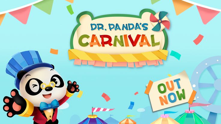 There's so much to do at Dr. Panda's Carnival! Kids can control the carnival rides and decide how fast they should go, pop popcorn, make candy, and more!