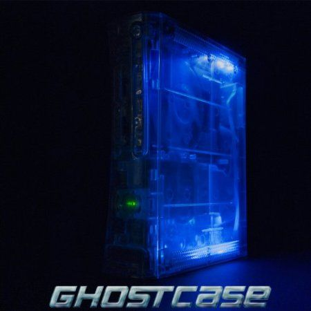 Xbox 360 Console - Modded with Crystal Clear GhostCase Your #1 Source for Video Games, Consoles & Accessories! Multicitygames.com