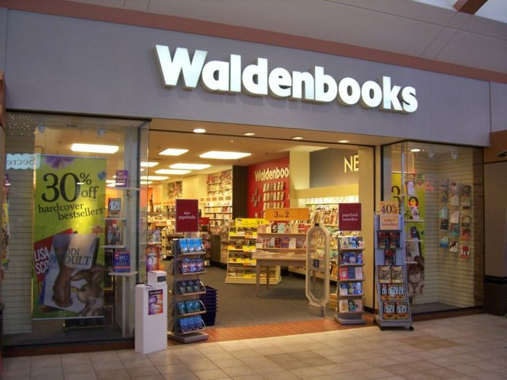 Waldenbooks - this was the one place in the mall that Mom never said no!  I spent so much time sitting on the floor, going through books!