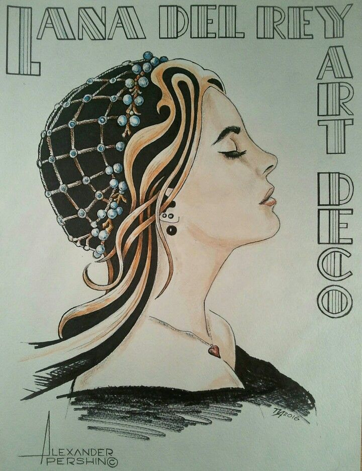 10 best concepts of gatsby images on pinterest concept for Lana del rey art deco