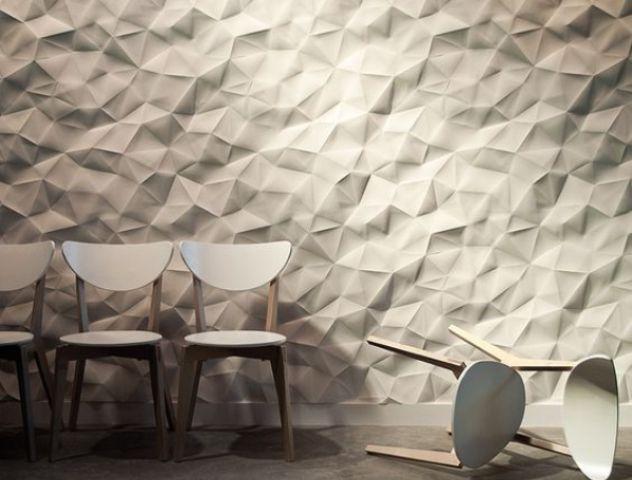 Ineinandergreifende 3d Paneele Fur Grosse Wande Wandpaneele Inneneinrichtung Dekor