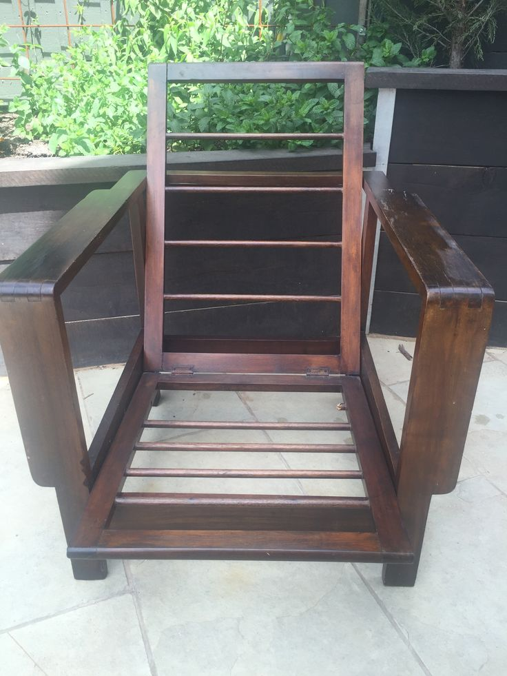 Fred Ward chair c1932 (1 or 2)