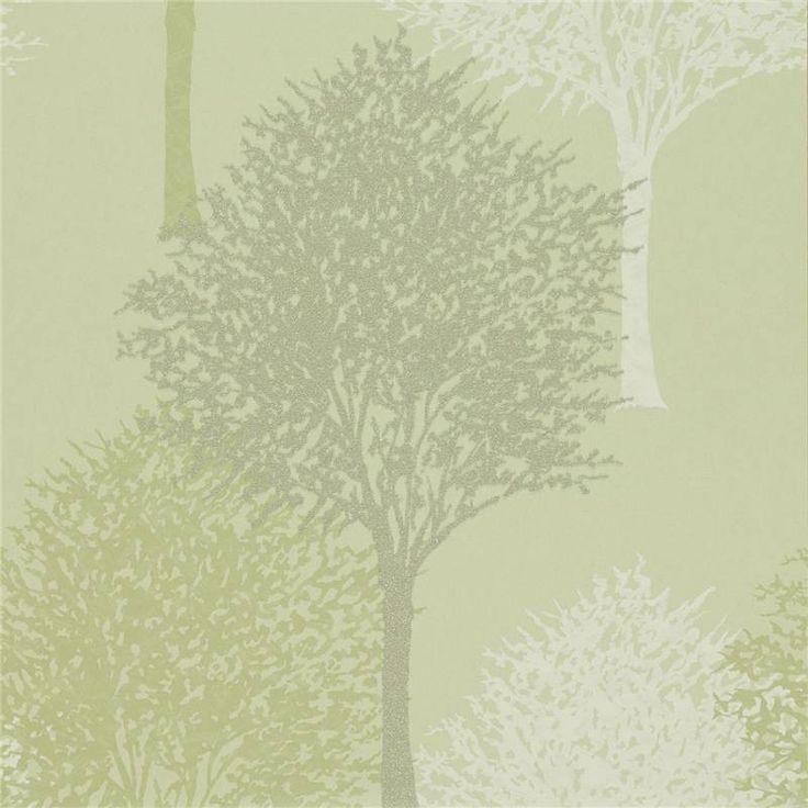 Pistachio - 110098 - Entice - Momentum - Harlequin Wallpaper