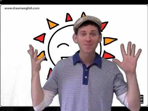 Een liedje over het weer voor kleuters (Engels)