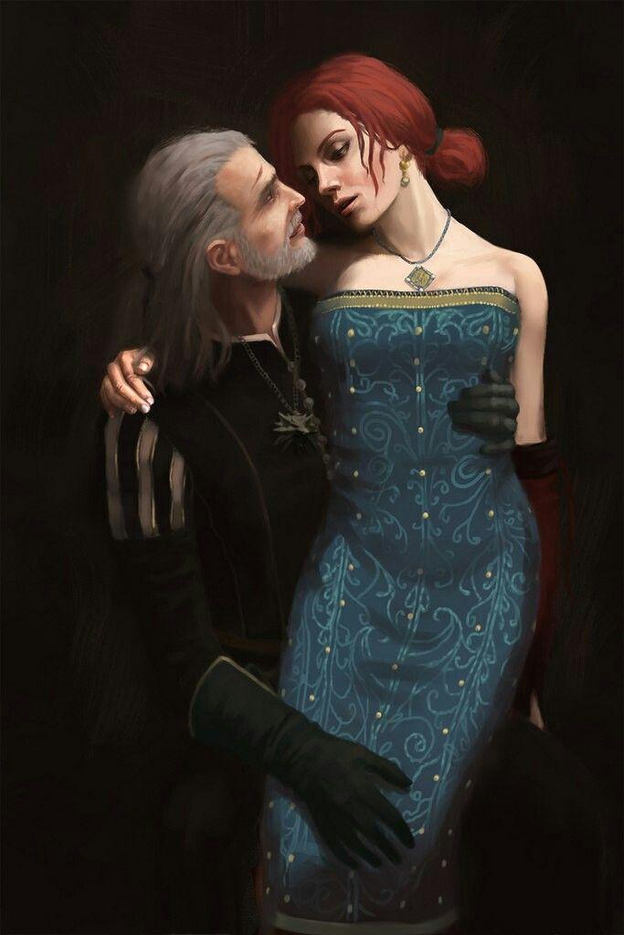 Geralt triss witcher 3