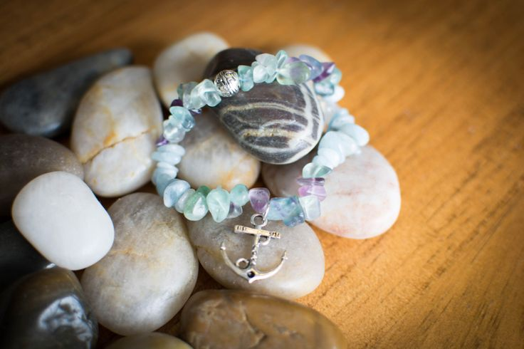 A personal favorite from my Etsy shop https://www.etsy.com/ca/listing/458195992/sea-escape-stretch-bracelet
