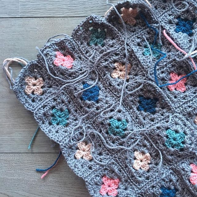 Sneak peak of an almost finished pram blanket. I love this part of the project, seeing it all come together. Hope it's new family loves it too!!  .  .  .  .  #aydamade #crochet #crochetblanket #pramblanket #custommade #handcrafted #locallymade #sutherlandshire #sydney #babyshowercolours #newfamilyheirloom #crochetersofinstagram