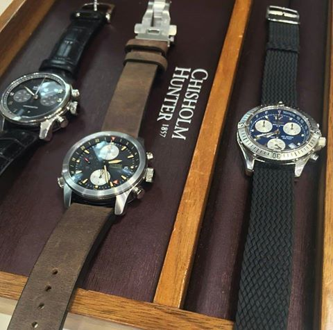 Bremont watches from Baselworld 2016 at Chisholm Hunter Silverburn Event, captured by The Everydayman blog