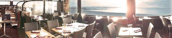 Restaurant Les Terrasses de la Potinière / Larmor Plage (56) / Diner avec vue sur la plage