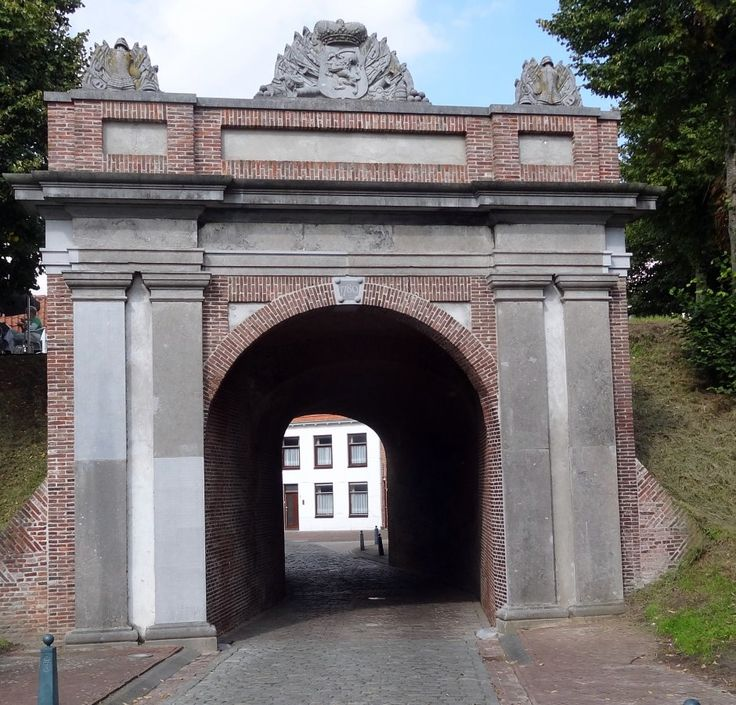 gentse poort hulst   | Zeeland op foto