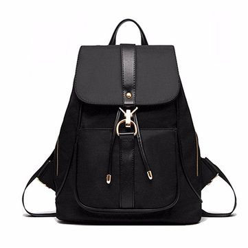 Women Fashion Oxford Backpack Vintage Laptop School Shoulder Bags shows  femininity. Shop on NewChic and buy yourself the best women backpack.