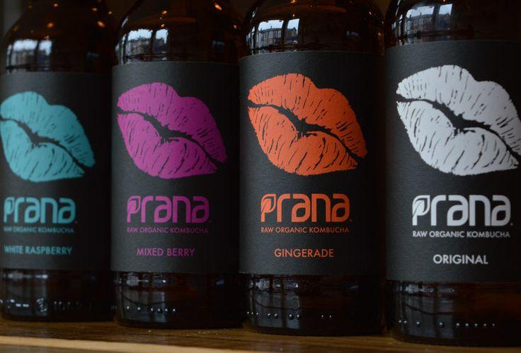 Clik - Prana Drinks Raw Organic Kombucha packaging design blog World Packaging Design Society│Home of Packaging Design│Branding│Brand Design│CPG Design│FMCG Design