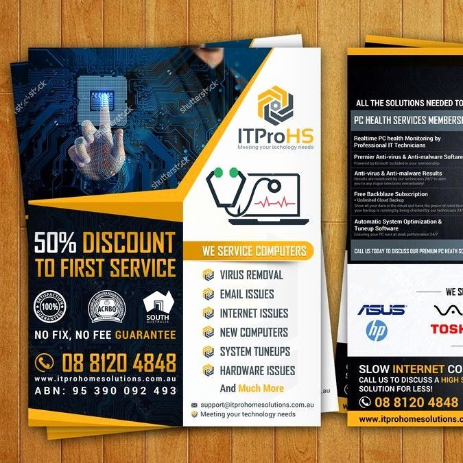 Computer Repair Flyer Templates Luxury Create A Modern Flyer For A Puter Repair And Services Startup By Computer Repair Flyer Template Computer Repair Business