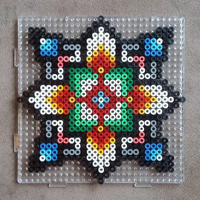 hama perler bead design by solstrikke hamma works