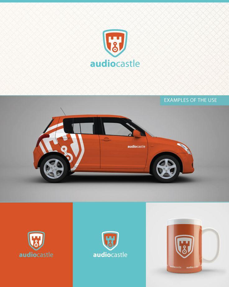 41 best vd inspiration images on pinterest logo designing audio castle malvernweather Images