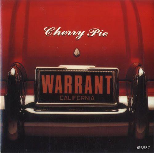 "Warrant Cherry Pie 7"" vinyl single (7 inch record) UK WNT07CH77963"