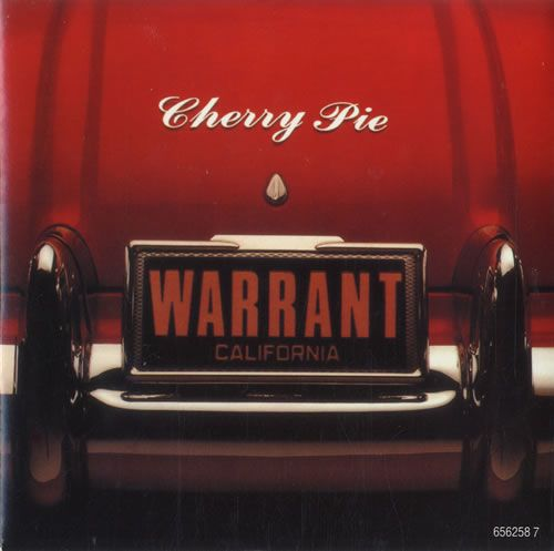 "Warrant Cherry Pie 7"" vinyl single (7 inch record) UK WNT07CH77963"