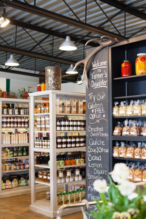The Farmer's Daughter Fine Food Market in Huntsville, Ontario