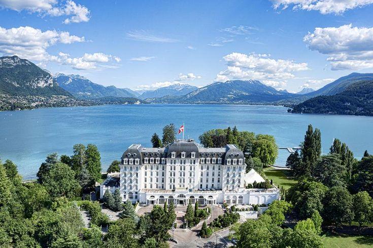 Fietsvakantie Hotel Impérial Palace - Annecy, Frankrijk (meer van Annecy)