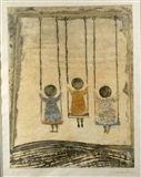 Graciela Rodo-Boulanger - THREE CHILDREN ON SWINGS...