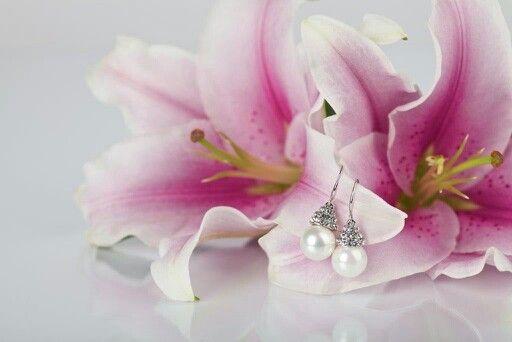 Kolczyki z kolekcji Powiedz TAK... kod KAM0197 #bydziubeka #jewelry #earrings #sayyes #wedding