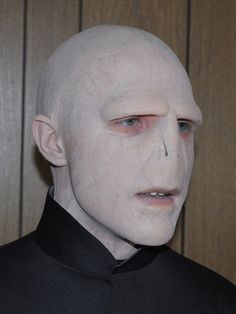 How incredible is this Voldemort costume?
