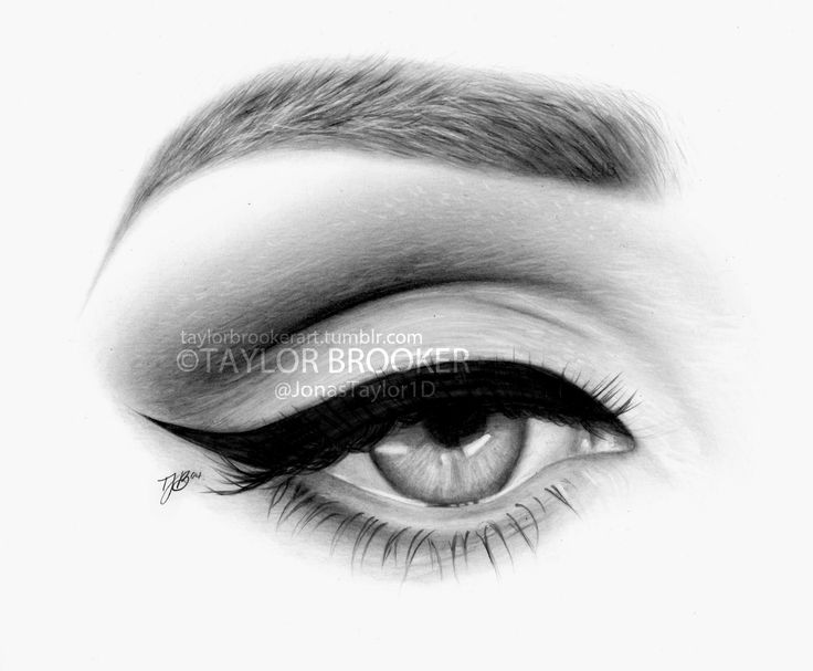 Pencil Drawings Of Eyes Crying | DRAWINGS | Pinterest | An ...