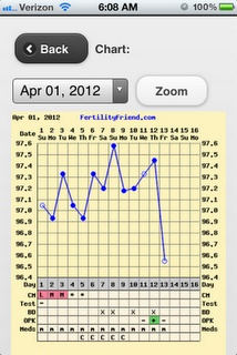 TTC and charting for PCOS while on the paleo diet!