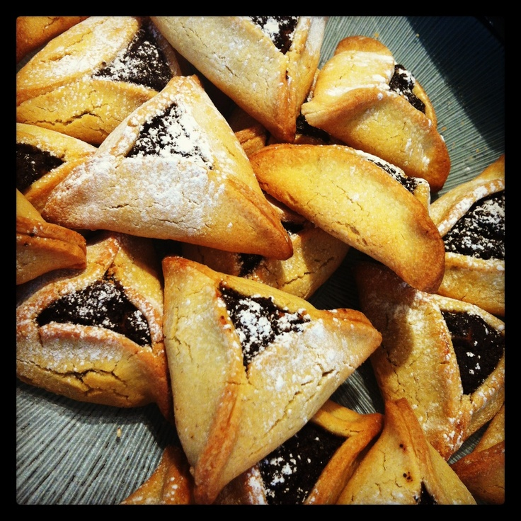 Poppyseed hamentaschen for Purim - only in GAIL's St John's Wood, Hampstead and Queen's Park for a few days!