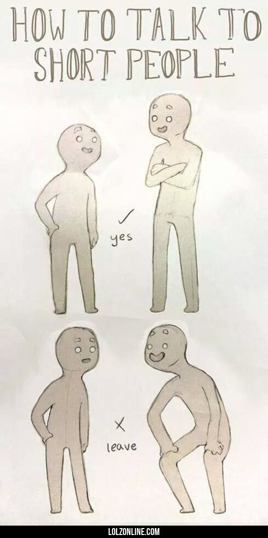 How To Properly Talk To Short People
