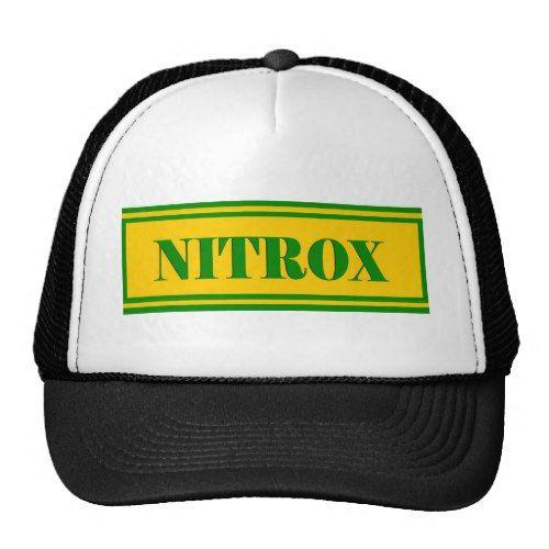 NITROX DIVING LOGO BOTTLE NITRO SCUBA DIVER Tshirt Trucker Hat