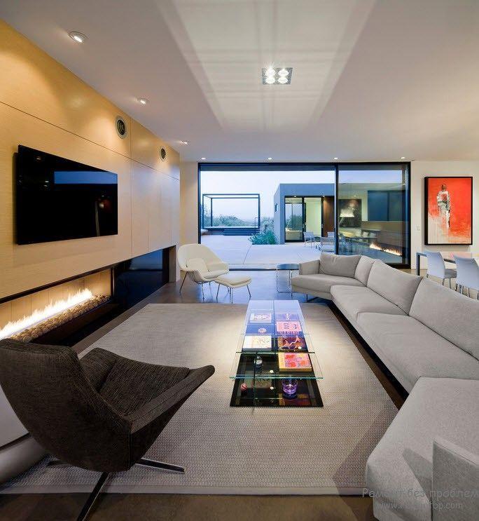 Die besten 25+ moderner Kamin Dekor Ideen auf Pinterest Moderne - luxus wohnzimmer modern