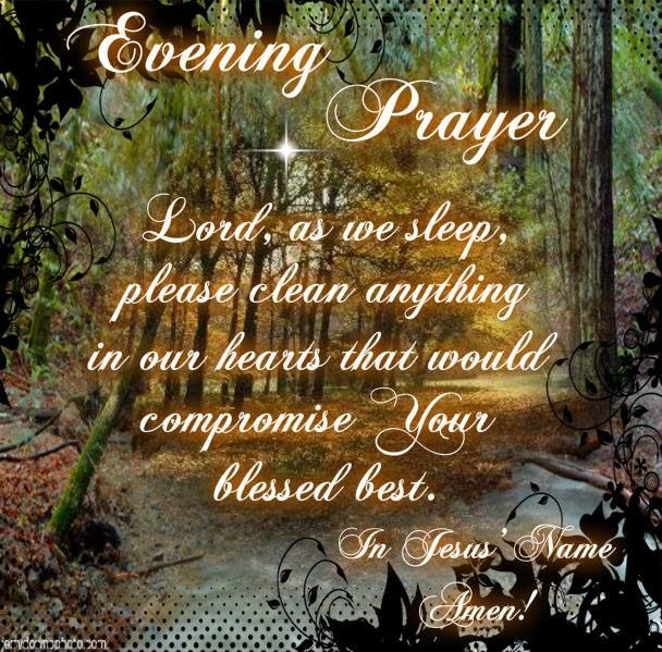 10 Best Evening Prayers ♡ Images On Pinterest